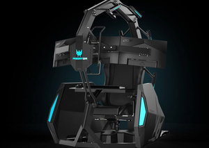 Acer unveils its $14,000 gaming cocoon, Predator Thronos Air