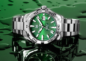 TAG Heuer goes green with brand new US$2,000 Aquaracer