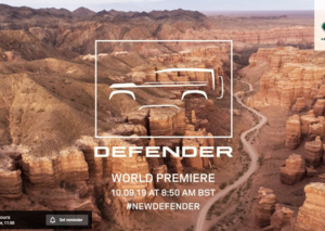 Live from Frankfurt Motor Show: Unveiling the new 2020 Land Rover Defender