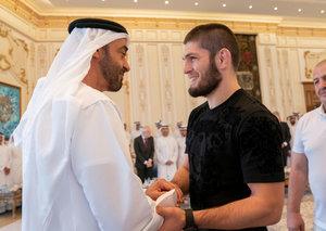 Abu Dhabi Crown Prince congratulates Khabib Nurmagomedov on UFC dominance