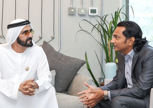 "Sheikh Mohammed calls Dubai the ""Silicon Valley of the Middle East"""
