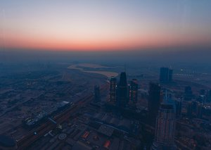 You can now watch the sunrise from the top of Burj Khalifa