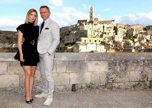 Sneak peek: On set with James Bond in Matera