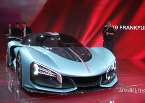 Chinese Hongqi unveils 1,400hp supercar concept