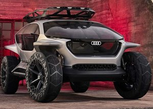 Audi reveals autonomous SUV off-roader with its own army of drones