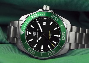 TAG Heuer creates $2,000 green 200-piece Saudi Arabia Aquaracer