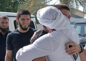 Sheikh Hamdan and UFC superstar Khabib Nurmagomedov are best friends