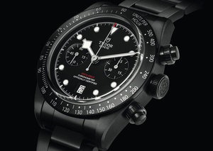Tudor unveils $6,000 all-black chronograph celebrating New Zealand rugby team