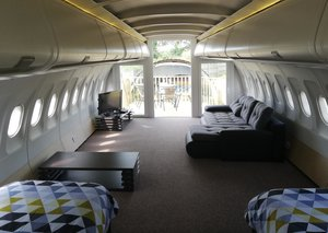 Etihad Airways plane gets transformed into cool accommodation
