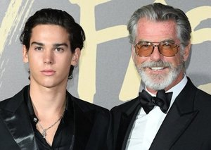 Pierce Brosnan's 18-year-old son makes London Fashion Week runway debut