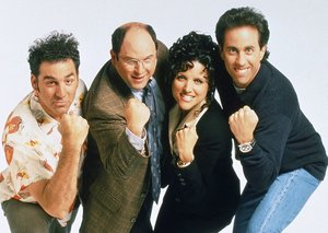 Netflix is replacing 'Friends' with all 180 episodes of 'Seinfeld'