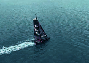 Hugo Boss just launched their very own yacht in London