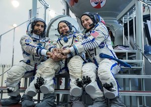 #UAEinSpace live-stream: Watch the UAE's first astronaut jet off into space