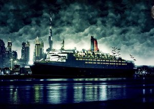 Dubai's Queen Elizabeth 2 lets you feature in a horror show with Halloween haunted tour
