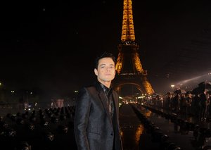 All hail Rami Malek, overlord of darkness