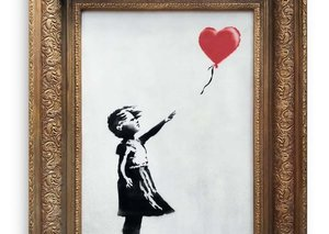 Latest Banksy auction rakes in $1.4 million and not a single piece was shredded