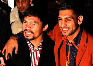 """Manny Pacquiao vs Amir Khan in Dubai: """"It will be a good fight"""" says Manny"""