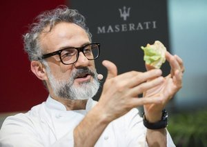 You can now dine with famous Italian chef Massimo Bottura in Dubai