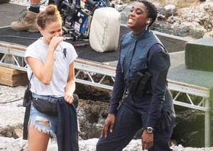 First look at female 007 Lashana Lynch in new James Bond movie