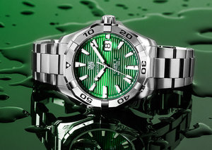 Everything you need to know about TAG Heuer's new green Aquaracer