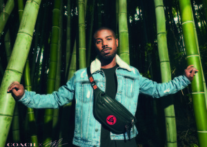 Michael B. Jordan has designed his first Coach Men collection