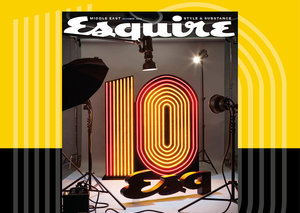 A letter from the editor: Celebrating a decade of Esquire Middle East