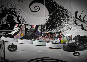 Vans x The Nightmare Before Christmas collab combines Christmas and Halloween charm