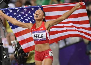 Allyson Felix breaks Usain Bolt's record for most world titles