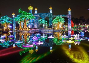 Dubai Garden Glow reopens for winter with sustainable displays