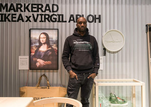 Virgil Abloh's new IKEA collection is finally available in the UAE