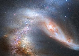 Scientists say a super galaxy is hurtling towards the Milky Way and will destroy us all