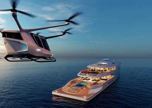 The liquid hydrogen-powered superyacht that comes with a helipad and infinity pool