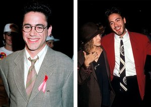 Robert Downey Jr. was a stylish tie superstar back in the day