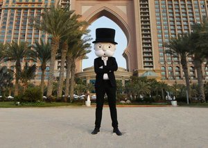 Which Dubai locations have made it to Monopoly board game?