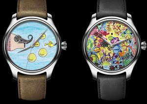 H. Moser & Cie offers two watches with dials created by school children