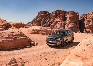 Exploring Jordan with the QX80 Limited Edition