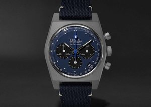 Zenith teams up with Bamford and Mr Porter on $8,600 space-age watch