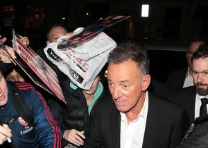 Next time you wear a suit, wear it like Bruce Springsteen