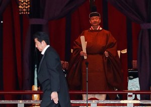 A look at the long list of royals at the Japanese Emperor's Enthronement