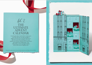 Tiffany's is releasing a US$112,000 diamond advent calendar