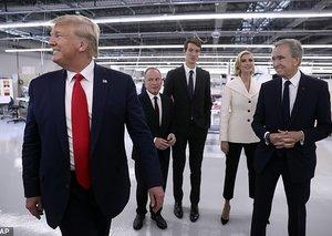 Louis Vuitton Artistic Director criticises 'joke' Donald Trump visit