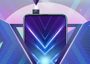 The Honor 9x ditches the notch for a pop-up camera