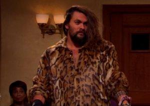 Watch Jason Momoa's hilarious Saturday Night Live appearance