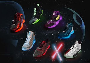 Adidas and Star Wars team up for Lightsaber-inspired sneakers