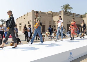 City Centre malls launch world's first outdoor fashion show on Google Street View
