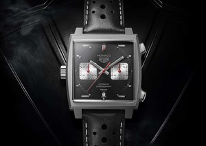 TAG Heuer unveils the final anniversary $6,550 Monaco in all black