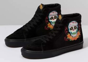Vans releases 'Day of the Dead' sneakers for Halloween
