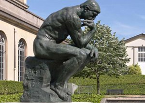 Rodin's 'The Thinker' sculpture is now in Abu Dhabi