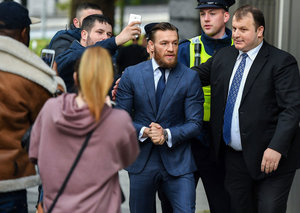 Conor McGregor pleads guilty to assault but he won't be going to prison