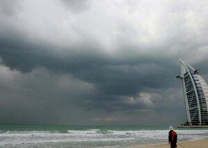 What happens when it rains in Dubai?